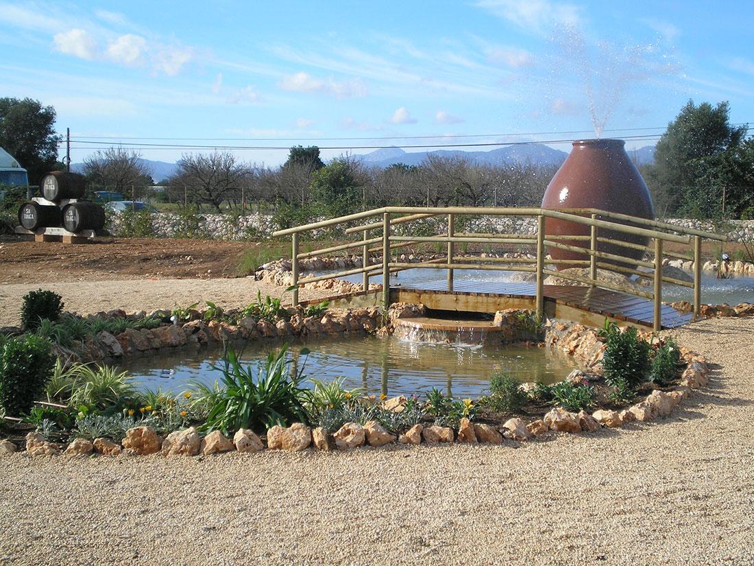 Jardiner a alonso charcas for Charcas de jardin
